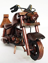 Wooden Motorcycle Model Mini Cars  Creative Home Furnishing Decoration Gift