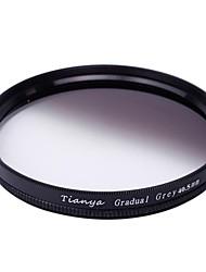 Tianya 40.5mm ronde afgestudeerd grijsfilter voor sony a5100 A6000 A5000 nex-5t 5tl nex5r QX1 16-50mm lens