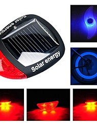 Luces para bicicleta , Tail Lights / luces de la rueda / Luces para bicicleta - 3 Modo Lumens alarma / iluminar desde el fondo CR2032