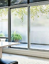 Art Déco Classique Autocollant de Fenêtre,PVC/Vinyl Matériel Décoration de fenêtre