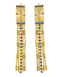 Yue Women's Causual Fashion Tassel Earrings