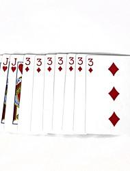 mágicos adereços mágicos Poker - multicoloridas (10 pcs)