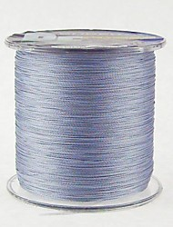 500M / 550 Yards PE Braided Line / Dyneema / Superline Fishing Line Dark Gray 18LB / 10LB / 12LB / 15LB 0.10mm,0.12mm,0.14mm,0.16mm mm For