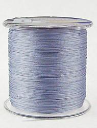 500M / 550 Yards Linha Traçada PE / Dyneema Linhas de Pesca Dark Gray 18 lb / 10LB / 12lb / 15LB 0.10mm,0.12mm,0.14mm,0.16mm mm ParaPesca