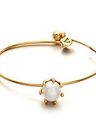 Simple Pearl Bangles