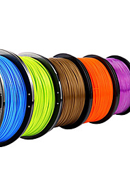 Lanu Natural Color 3D Printer Filament 3D Printing Consumables Material(PLA ABS,1.75mm 3.0mm,1KG)