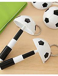 estilo de fútbol bolígrafo con llavero