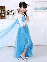 Girls Clothing Frozen Elsa Dress Frozen Costume Robe Vestidos