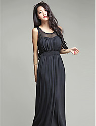Ankle-length Silk Bridesmaid Dress Ball Gown Sweetheart
