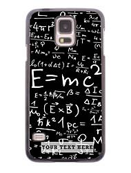 caja del teléfono personalizado - caso del diseño del metal de fórmula para i9600 Samsung Galaxy S5