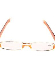 [lentes livres] retângulo de plástico óculos de leitura clássico cheio-rim