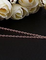 SSMN Women's Gold Plate Necklace