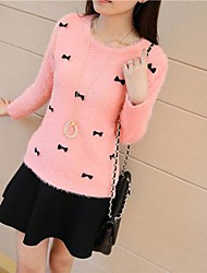 Women's Round Collar Cartoon Sweaters(More Colors)
