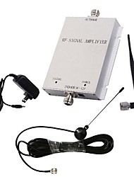 Mini 3G980 2100MHz Mobile Signal Booster Cell Phone RF Repeater Amplifier with Whip and Sucker Antenna