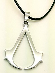 Video Game Logo Alloy Cosplay Necklace