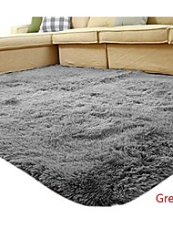 Casual Silk 140cm*200cm  Bedside Rug TV Carpet Sofa Table Carpet Bath Rugs