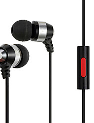 Zanmson ZE-205 Fashion Wired Mini In Ear Earphone with Stereo Mic for Iphone/Iphone plus