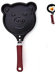 Creative Kitchen Omelette Pan Pig Shape