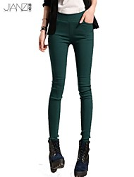 Pantalons pour Femmes  ( Coton organique ) Skinny  -  Moyen  -  Extensible