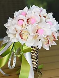 Magnolia Fruit Wedding Bouquet Silk Cloth Wedding Bride Holding Flowers