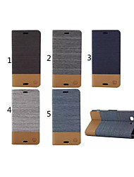 cubierta de la caja - Sony Xperia Z3 Mini - Cuero PU - Fundas  Completas/Fundas con Soporte - Diseño Especial -