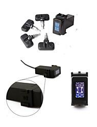 cartpms para ferramentas de diagnóstico sistema de monitoramento de 4 sensores internos de exibição bar de pressão de pneus nissan daweoo psy