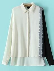 Women's White Blouse Long Sleeve