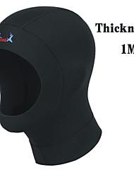 1mm Neoprene Scuba Diving Caps Snorkeling Hat Underwater Keeping Warm Bound Hair Heat Preservation Anti-UV
