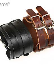 Reallink® - Leder - Lederen armbanden - Armbanden - voor Feest/Dagelijks/Causaal/Sport