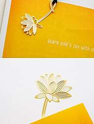 Gold Gorgeous Plant Metal Bookmark Kids Birthday Wedding Baby Shower Reurn Christmas Gifts Favors