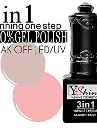 2pcs Gel UV coloré de vernis à ongles y-5-21