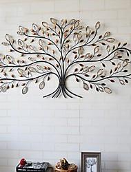 E-HOME® Metal Wall Art Wall Decor, Tree Pattern Wall Decor One PCS