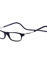 [Free Lenses] Metal Rectangle Full-Rim Fashion Reading Eyeglasses