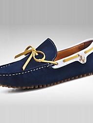 Chaussures Bateau ( Noir/Rouge/Gris/Bleu marine ) - Mocassins - Cuir