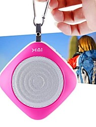 BS-A6 Square Mini Waterproof  USB Disk & TF Card Bluetooth Speaker (Assorted Colors)