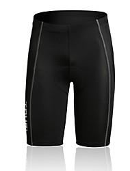 SPAKCT Per uomo Estate Ciclismo Pantaloncini/Jersey 3/4 Collant Traspirante/wicking/Compressione/Pad 3D Nero Corse/Ciclismo S/M/L/XL/XXL/XXXL