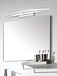 LED Mirror Lamp Stainless Steel And Crystal 100~240V