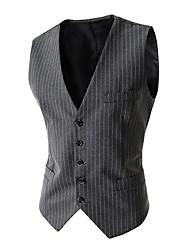 moda casual ternos magros dos homens colete