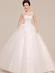 Vestido de Noiva Baile Transparente Comprido ( Tule )