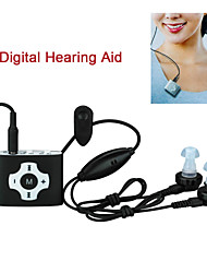 E-8P Easy Type Digital Hearing Aid / FM Radio Rechargeable Sound Voice Amplifier