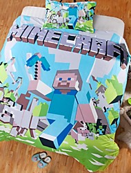 Hot Minecrafts Duvet Cover Set Bedding Set Cotton