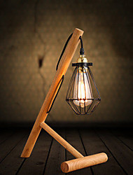 Madera/ Bambú - Lámparas de Escritorio Rústico/ Campestre