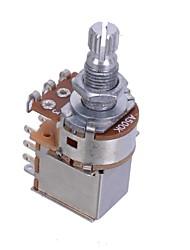 Guitar Control Pot A500K Push Pull Potentiometer Guitar Part Chrome 10PCS/LOT