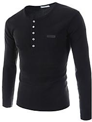 svago degli uomini a maniche lunghe slim fit t-shirt k3b22