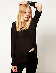 O  M  G  Women's European Fashion Long Sleeve Bottoming Shirt