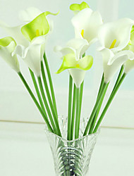 """14.2""""L Artificial PU Small Calla Flowers for Decoration"""