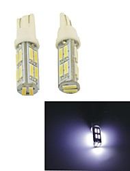 Carking™ T10-7014-14SMD Car LED Rome Lamp Clearance Lamp-(2PCS)White Light