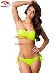 Bikinis/Tankinis/Múltiples prendas/Accesorios de natación/Blusa Traslúcida ( Spandex )- Sin Cables - Sin mangas para Mujer