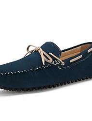 Chaussures Hommes - Décontracté - Marron / Vert / Marine - Poils - Chaussures Bateau