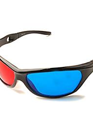 gafas azules universales 3d rojo +